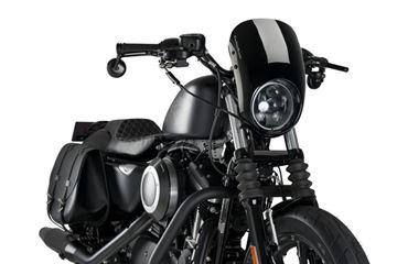 Custom Acces CUP0010N cupolino nero Harley Davidson