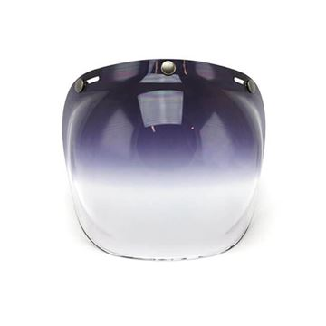 Visor bubble dark smoke casco jet Roeg 565588