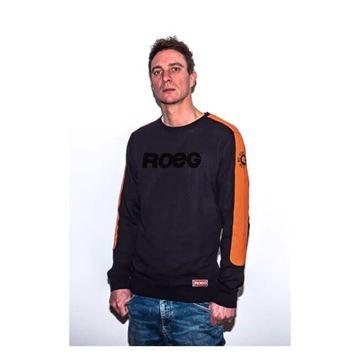 Maglia Roeg Randy Sweat Jersey black orange