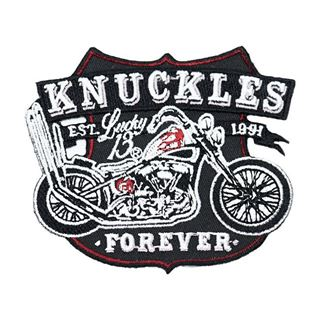 Immagine di Lucky 13  patch Knuckles Forever